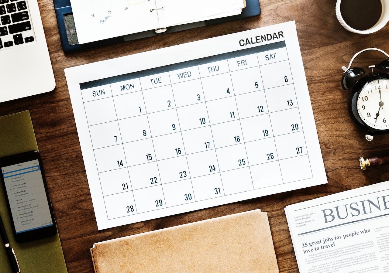 Dood aan de content kalender!