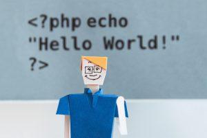 Hello world Engels of Nederlands?